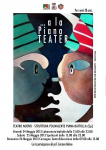"Locandina | Rassegna Teatrale "" a la Piana Teater"""